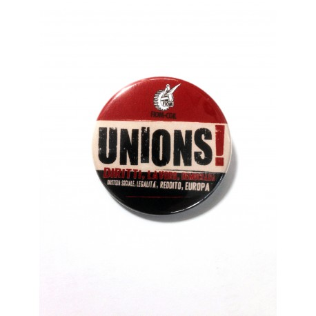 Spille/Pins Unions