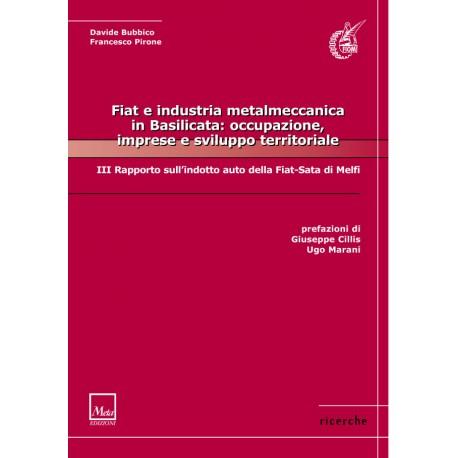 Fiat e industria metalmeccanica in Basilicata: occupazione, imprese e sviluppo territoriale