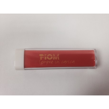 Power bank - Fiom... sempre in carica