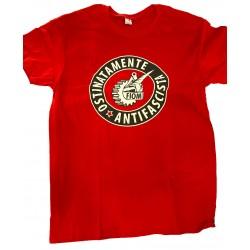 T-Shirt OSTINATAMENTE ANTIFASCISTA
