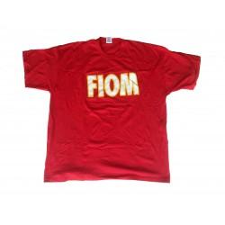 T-Shirt Scritta FIOM